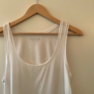 Everlane Like New White Tank Top Small